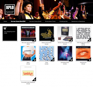 Hermes house band webshop