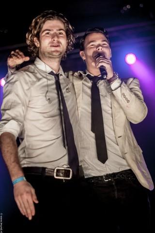 Hermes House Band zangers Marek Kruszel en Jasper Janssen